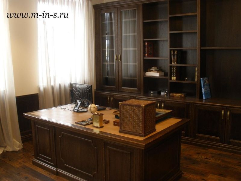Домашние кабинеты и библиотеки — классика жанра в вашем доме