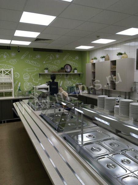Реконструкция обеденной зоны для сотрудников АО «Концерн Росэнергоатом»