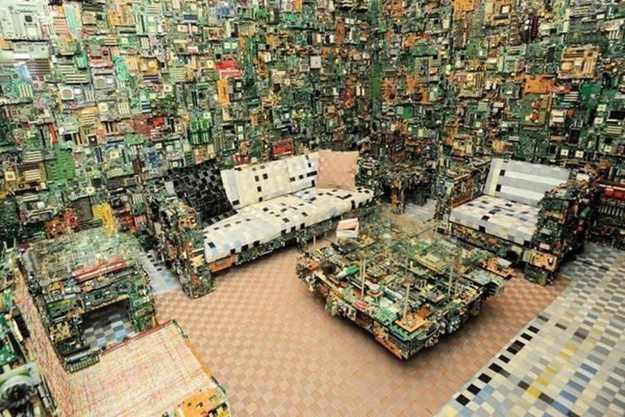 Бенджамин и цифровая мебель